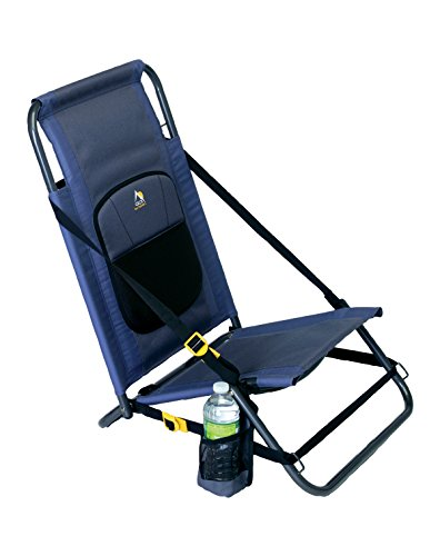 GCI Outdoor Everywhere Portable Folding Hillside Chair, Midnight