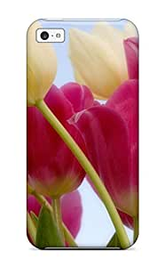 linfenglinTpu Case For iphone 6 plus 5.5 inch With Tulips & Sky
