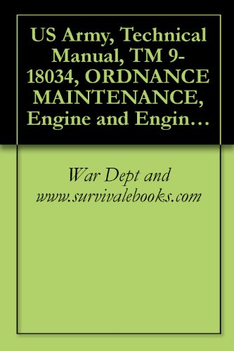 US Army, Technical Manual, TM 9-18034, ORDNANCE MAINTENANCE, Engine and Engine Accessories For 1/4-Ton 4x4 Truck, (Willys-Overland Model MB and Ford Model GPW), 1944