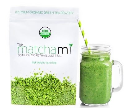 PREMIUM MATCHA GREEN TEA POWDER USDA Organic by Teami Blends - Best for a Smoothie Drink, Latte, Ice Cream, Baking a Cake, Snacks, and any Other Culinary Blend