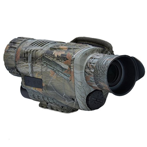 Insun Night Vision Digital Camera Monoculars Infrared Spy Camo 5x 40mm by Insun