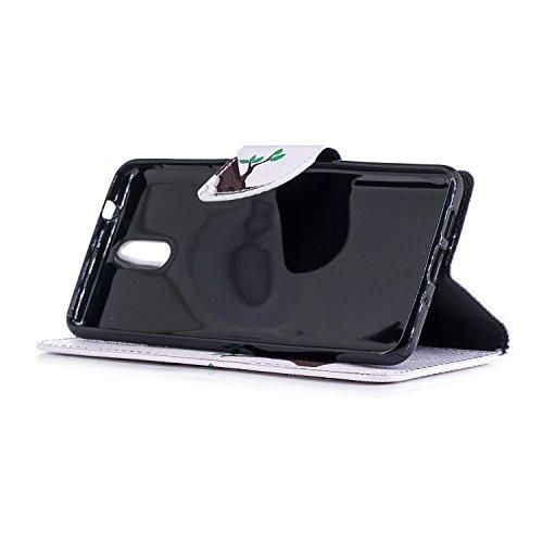 PU Flip 3 BONROY Coque 1 Housse Nokia 2018 Cuir nXRRqp6