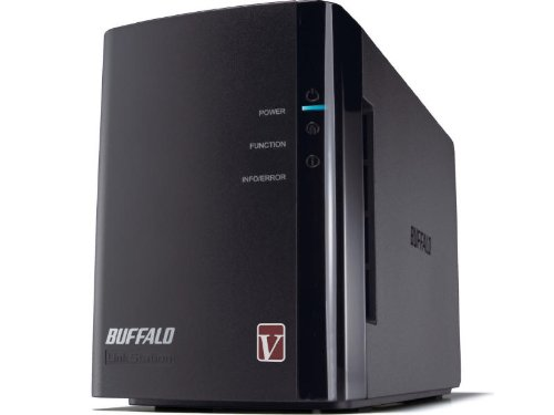 Buffalo LinkStation Pro Duo 2-Bay Diskless Enclosure High Performance Network Attached Storage (NAS) - LS-WVL/E