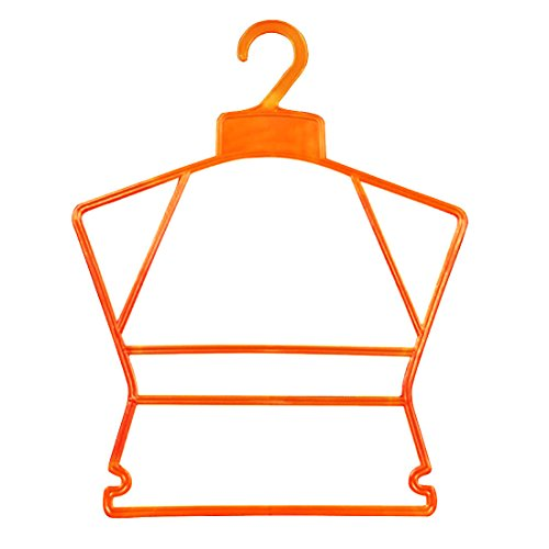Qianle Plastic Hanger Children Kid Clothes Pants Lightweight
