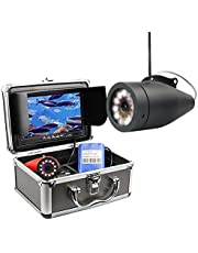 Portable Fish Finder Camera,Underwater Fishing Camera HD1080P Waterproof IP68 with 30M/100Ft Cable for Ice, Lake, Boat, Sea Fishing (NO DVR)