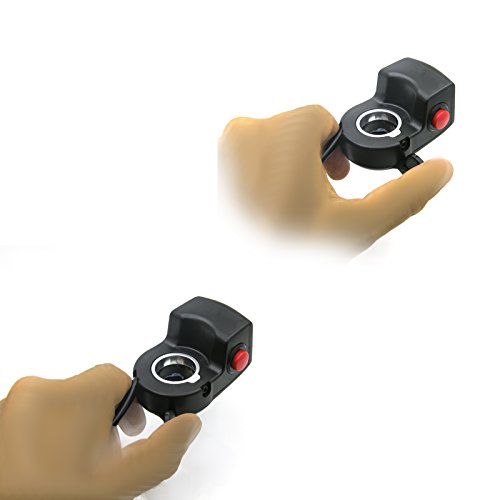 Speed Control Thumb Throttle Grip For Scooter Ebike Electric Bicycle With OnOff Button And Battery Power Indicator Bar by GGSN (Image #5)