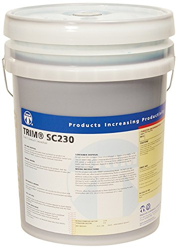 TRIM Cutting & Grinding Fluids SC230/5 Oil Rejecting Semisynthetic Fluid, 5 gal Pail