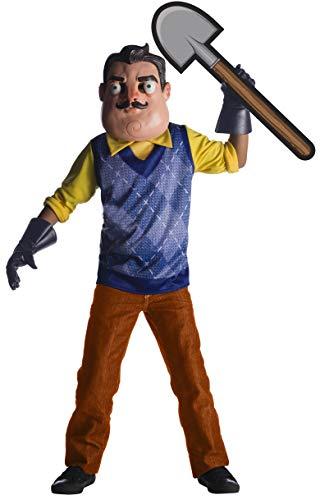Halloween Themed Cartoon Movies (Rubie's Boys Hello Neighbor Costume,)