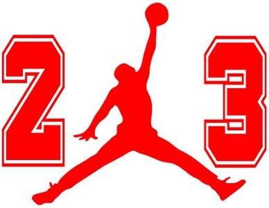 : 23 Flight Jordan Jumpman Logo Huge AIR Vinyl