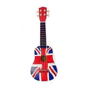 Opción Principiantes Ukulele Uke Mahalo Soprano Musical Instrument Niño Adulto: Blanco