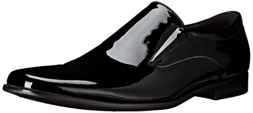 Steve Madden Mænds Hikick Slip-on Dagdriver Sort Patent iyAeaim9hR