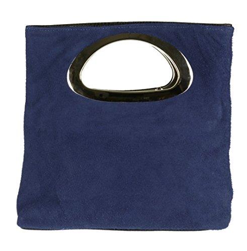 Cartera Marino Mujer De Handbags Mano Girly Azul Para Aw8TO