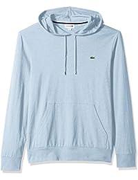 Men's L/S Hoodie Jersey T-Shirt W/Central Pocket