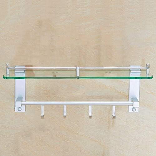 バスルームラックフックタオルラック手すり壁掛けステンレススチール LCSHAN (Color : 15*45cm)