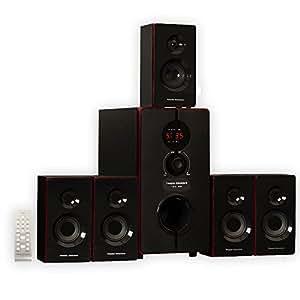 Amazon Com Theater Solutions Ts516bt 5 1 Surround Sound