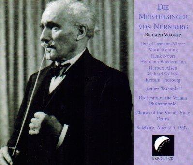 Price comparison product image Wagner: Die Meistersinger Von Nurnberg (Salzburg,  August 5,  1937)