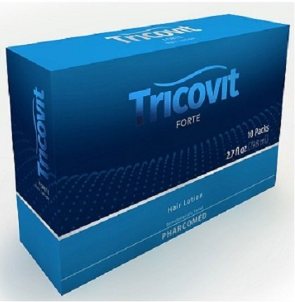 Amazon.com : Tricovit Tablets (60 Tablets) and Tricovit Forte Locion Capilar 8 ml (10 ampules) : Beauty