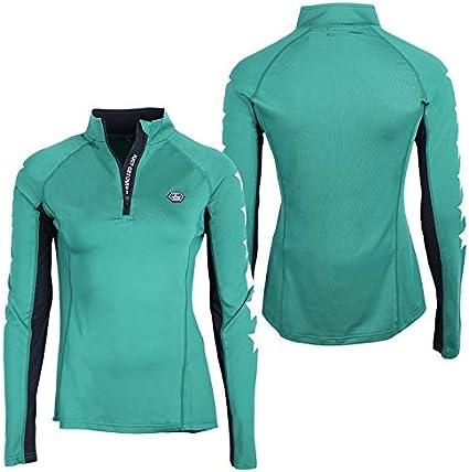 QHP REIT-Shirt Funktions-Shirt Vegas Langarm