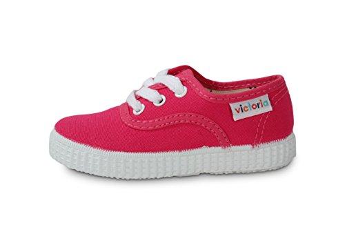 Victoria Inglesa Lona 6613, Zapatillas de Tela Unisex Fresa