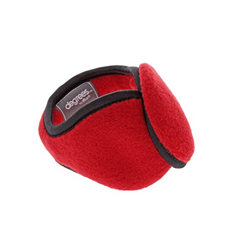 180s Youth Degrees Discovery Ear Warmers (Red)