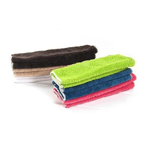 AckfulHigh Efficient Anti-Grease Color Dish Cloth Bamboo Fiber Washing Towel Magic Kitchen Cleaning Wiping Rags -
