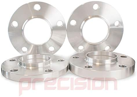 Precision Staggered Fitment Wheel Spacers 15mm and 20mm with Bolts ƁMW 5 Series 2011 On PN.SFP-2PHS4+2PHS5+10BM42545+10BM42550115