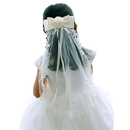 Ivory First Communion Veil - 2