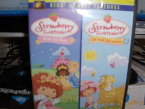 Strawberry Shortcake(double Feature)dress up Days/get Well Adventure