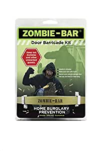 Amazon Com Zombie Bar Door Barricade Kit Home Improvement