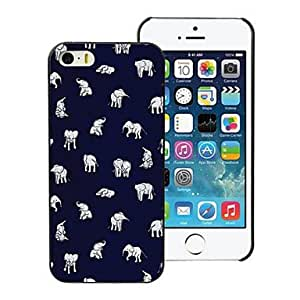 SHOUJIKE Lovely Little Elephant Design PC Hard Case for iPhone 5/5S
