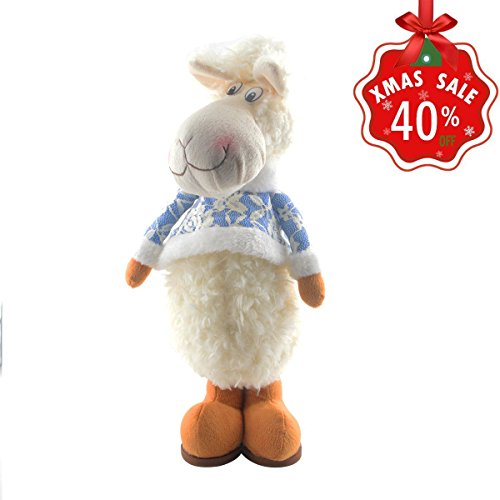 Santa Claus And Reindeer Decoration - Christmas Standing Figurine Decorations Toy Santa Claus Snowman Reindeer Stretchable Christmas Dolls Xmas Home Indoor Table Ornament