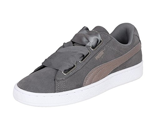 Sneakers Femme Pearl Puma Heart Basses Lunalux Suede Wn's Smoked qpI4fw