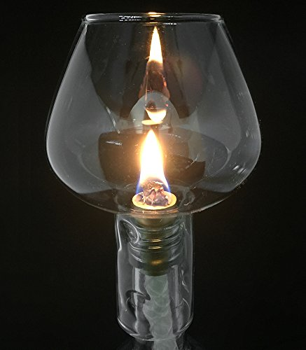 Firefly-Wine-Bottle-Oil-Lamp-Kit-38-Fiberglass-Wick-Aluminum-Wick-Holder