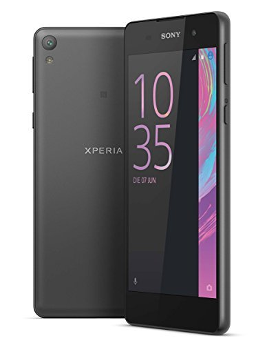 "SONY XPERIA E5 Black (F3313) (UNLOCKED) LTE 5.0"" / 16GB-1.5GB RAM / 13MP SMARTPHONE - 1 year US WARRANTY!"