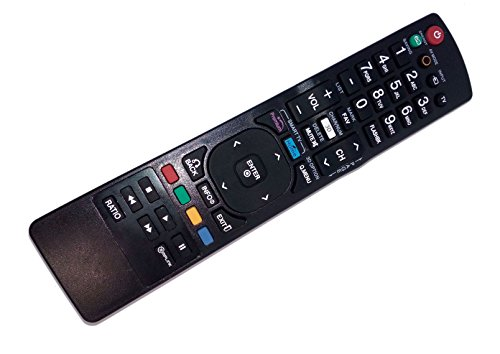 Replaced Remote Control Compatible for LG 50PT350C AKB72914043 55LV5500UAAUSYLUR 60PZ950 50PT350-UD LCD LED HD TV