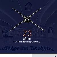 Fan del proyector del Holograma de los 65CM WiFi 3D, proyector ...