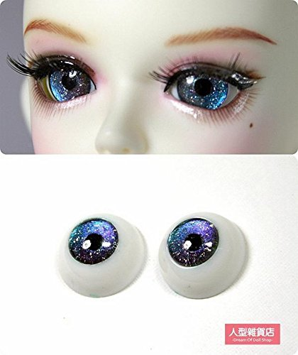 12mm 14mm 16mm acrylic eyes For BJD DOD AOD MK OK RD Doll Dollfie Laser gradient H2