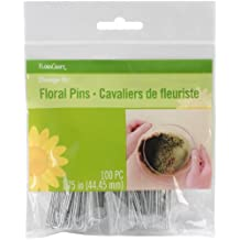 Floracraft RS966112  Floral Pins, 1.75-Inch, 100 Per Package