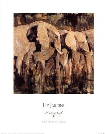 Liz Jardine - Heart of the Jungle III NO LONGER IN PRINT - LAST ONES!!