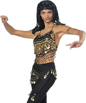 Oberteil Mit Munzen Orientalisch Damen Accessoire Karneval Halloween