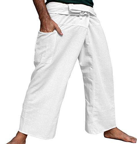 Raan Pah Muang Cotton Fisherman Wrap Pants