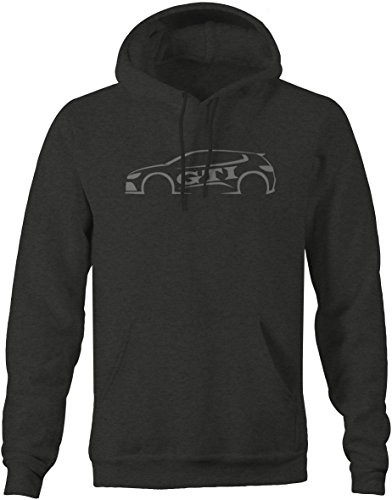Truck Golf Shirt (Lifestyle Graphix Stealth - VW - Pocket Rocket - Turbo Golf Rabbit GTI R32 AWD Sweatshirt - Large)