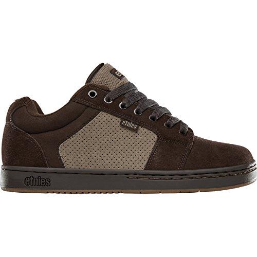 Etnies Men's Barge XL Skate Shoe, Brown/Beige/Gum, 10 Medium US