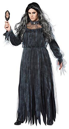 California Costumes Women's Plus Size The Legend of Bloody Mary Adult Woman Costume, Black/Gray, 3X (Mary Adult Womens Plus Size Costumes)