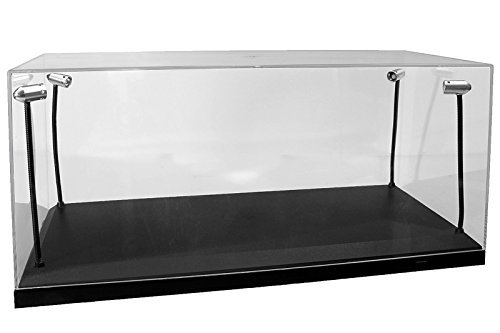 Light-Up Acrylic Vehicle / Figure Display Case by MJ Toys