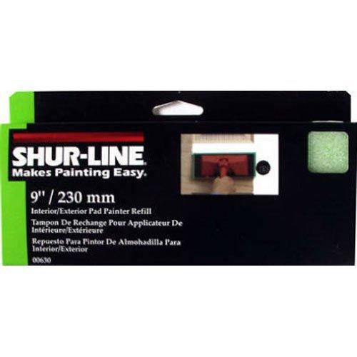 Shur-Line 630S Interior/Exterior Pad Painter Refill, 9-Inch