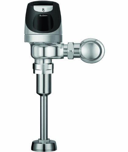 Sloan Valve SOLIS 8186-1.0 SOLIS Solar Powered Urinal Flushometer, Chrome by Sloan Valve
