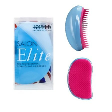 The Authentic TANGLE TEEZER Detangling Hairbrush by Shuan P, 'Made in England' - The SALON ELITE Professional...