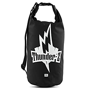 Thunder-Z Waterproof Dry Bag 20L - Roll Top Waterproof Floating Duffle Gear Dry Bag for Boating, Kayaking, Fishing, Rafting, Camping, Canoeing, or Snowboarding - Protects Against Water and Dirt