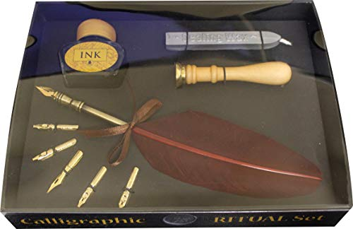 Price comparison product image Lo Scarabeo Calligraphic Ritual Set Wax Seal Kit
